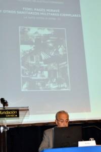 Dr. José Pac Sá, confernecia Fidel Pagés